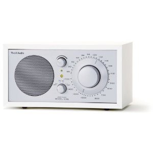 Tivoli Audio Model ONE Monoradio weiß/silber 1004 M1WHT