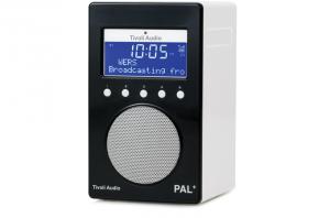 Tivoli Audio PAL+ Digitalradio 1096 schwarz/weiß Outdoor-Radio palpgblk
