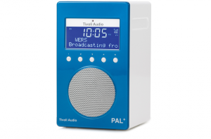Tivoli Audio PAL+ Digitalradio 1098 blau/weiß Outdoor-Radio palpgblu