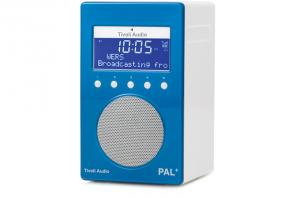 Tivoli Audio PAL+ Digitalradio 1098 blau/weiß Outdoor-Radio palpgblu