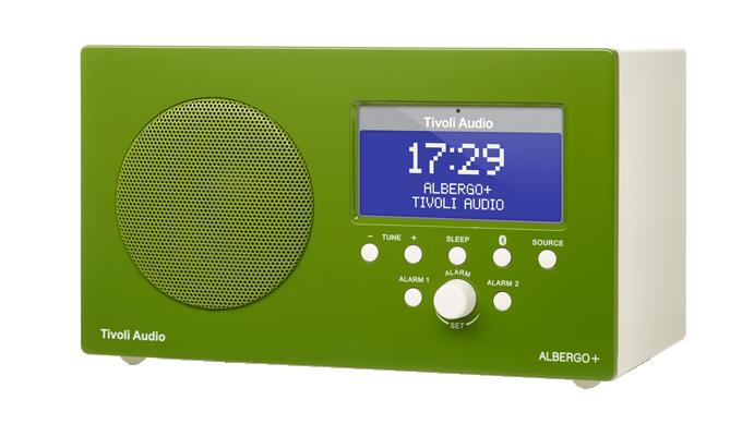 Tivoli Audio Albergo+ Digitalradio Bluetooth grün 3063