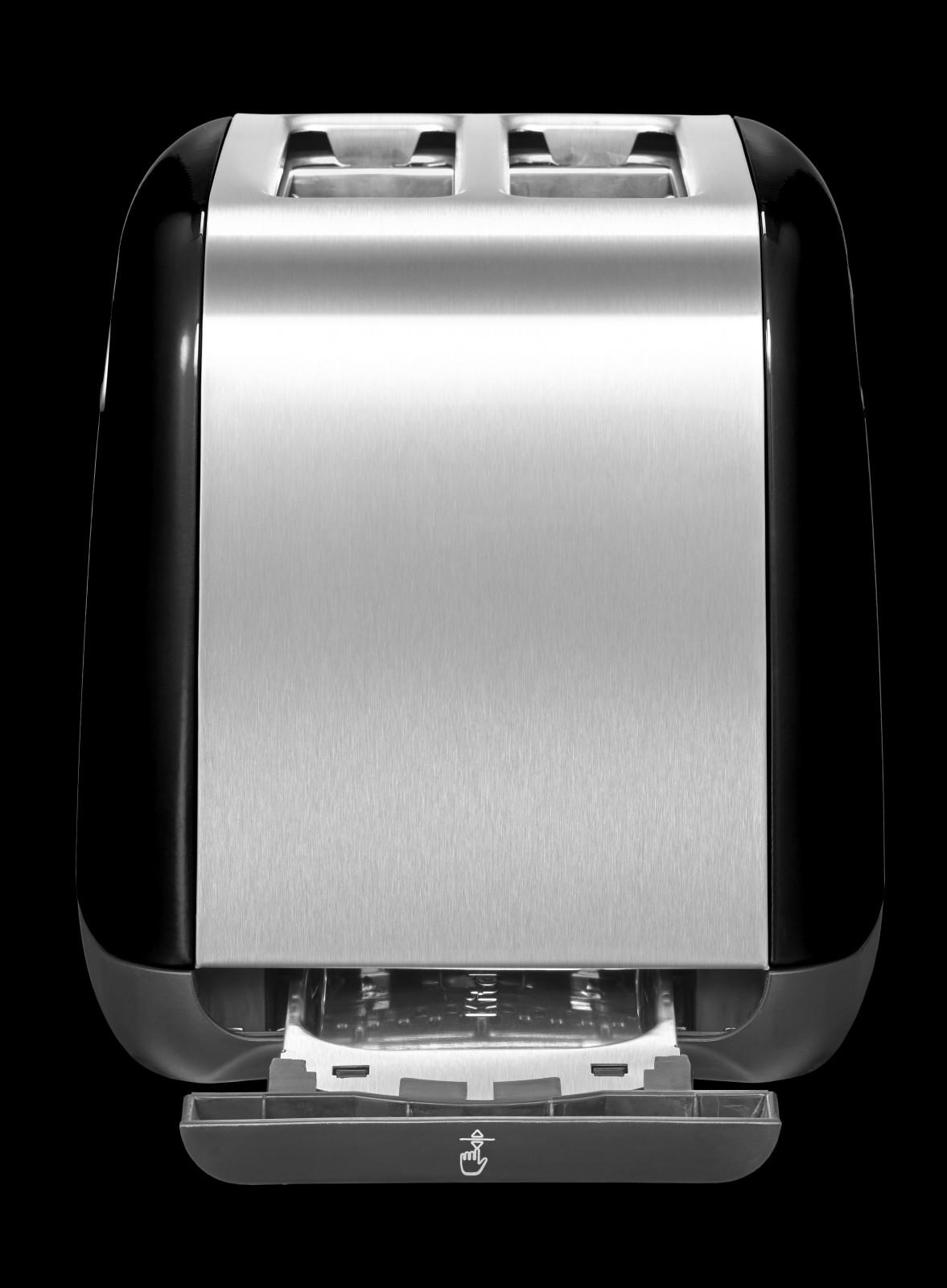 kitchenaid 2 scheiben toaster 5kmt221 eob onyx schwarz. Black Bedroom Furniture Sets. Home Design Ideas