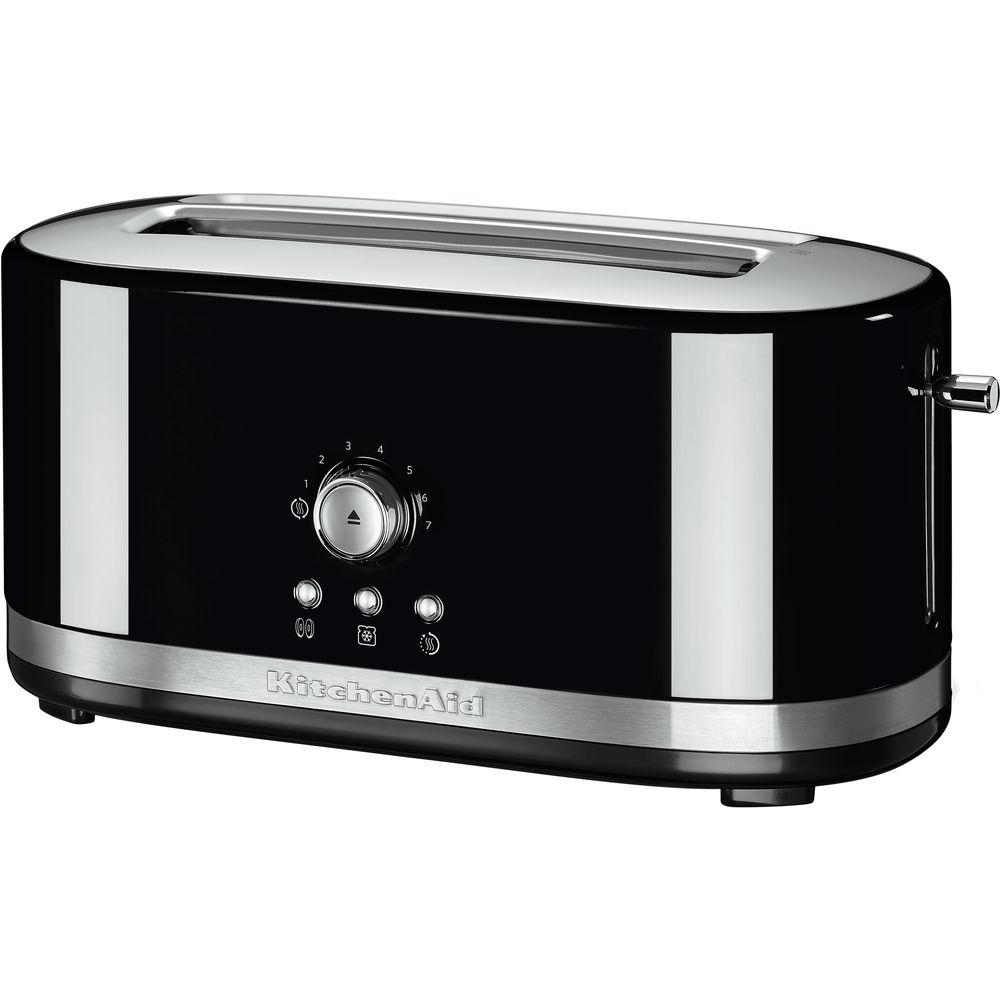 KitchenAid 4 Scheiben Toaster 5KMT4116 EOB Onyx Schwarz